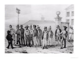 A Government Jail Gang, Sydney, New South Wales, 19th Century Giclee Print by Augustus Earle