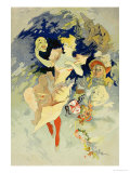 Reproduction of &quot;La Danse,&quot; 1891 Giclee Print by Jules Ch&#233;ret