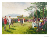 The Club's the Thing, Published by Boupil and Co. Giclee Print by Henry Sandham