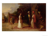 The Slave Market, 1841 Giclee Print by William James Muller