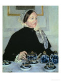 Lady at the Tea Table, 1885 Giclee Print by Mary Cassatt