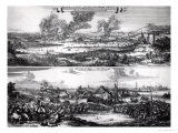 Dutch Attack on the River Medway 20th and 21st June 1667 Giclee Print by Romeyn De Hooghe