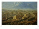 Edinburgh from the Calton Hill Giclee Print by Robert Batty