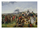 Derby Day (Detail) Giclee Print by William Powell Frith
