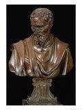 Portrait Bust of Michelangelo Buonarroti Giclee Print by  Daniele Da Volterra