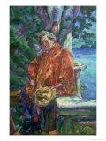 Portrait of Ferruccio Busoni 1916 Giclee-trykk av Umberto Boccioni
