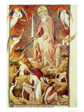 The Last Judgement, circa 1418-25 Giclee Print by Master Of The Hours Of Rohan