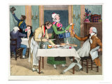 Le Restaurant, Published by Rodwell and Martin, 1820 Giclee Print by John James Chalon