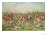 The Battle of Vittoria, June 21st 1813 Lmina gicle por John Augustus Atkinson