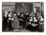 The Family of Thomas More, Chancellor of England Giclee Print by Hans Holbein the Younger