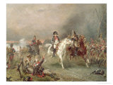 Napoleon's Retreat Giclee Print by Robert Alexander Hillingford
