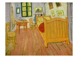 The Bedroom, 1888 Giclee Print by Vincent van Gogh