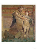 The Education of Achilles by Chiron, from Herculaneum Reproduction proc&#233;d&#233; gicl&#233;e