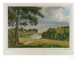 View of Burghley House, Seat of the Marquis of Exeter Giclee Print by Frederick Mackenzie