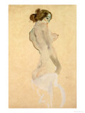 Standing Female Nude, 1912 Giclee Print by Egon Schiele