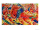 The City Rises, 1911 Giclee Print by Umberto Boccioni