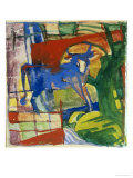 Blue Cow, 1914 Giclee Print by Franz Marc