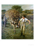 The Haywain, circa 1889 Giclee Print by Henry Herbert La Thangue