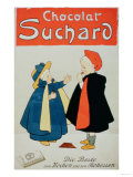 "Poster Advertising ""Suchard Chocolate"" Giclee Print"