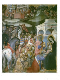Adoration of the Magi, 14th Century Giclee Print by Also Manfredi De Battilori Bartolo Di Fredi