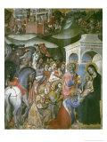 Adoration of the Magi, 14th Century Giclee Print by Also Manfredi De Battilori Bartolo Di Fredi