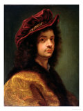 Self Portrait, 1667 Giclee Print by Il Baciccio
