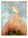 White Pegasus, circa 1908 Giclee Print by Odilon Redon