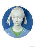 Relief of the Head of a Lady Giclee Print by Andrea Della Robbia