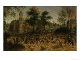 Assault on a Town Giclée-Druck von Sebastian Vrancx
