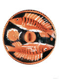 Plate Depicting Two Fish, Greek, 350 BC Giclee Print