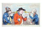 John Bull Humbugg'd, Alias Both Ear'd, 1805 Giclee Print by James Gillray