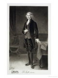 Thomas Jefferson, 3rd President of the United States of America, 1884, Published 1901 Reproduction proc&#233;d&#233; gicl&#233;e par Eliphalet Frazer Andrews