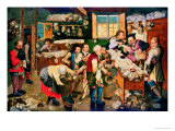 The Collector of Tithes Giclee Print by Pieter Brueghel III