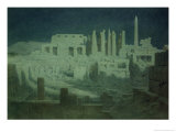 Moonlight at Karnak Giclee Print by Robert George Talbot Kelly