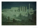 Moonlight at Karnak Giclee Print by Robert George Talbot Kelly