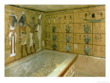 The Burial Chamber in the Tomb of Tutankhamun, New Kingdom Giclee Print by 18th Dynasty Egyptian