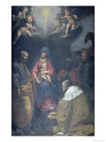 Adoration of the Magi, 1629 Gicle-tryk af Matteo Rosselli