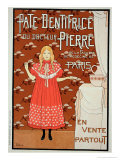 "Reproduction of a Poster Advertising ""Doctor Peter's Toothpaste,"" 1894 Giclee Print by Louis Maurice Boutet De Monvel"