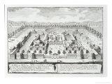 """Baths of Diocletian, Rome, from """"Entwurf Einer Historischen Architektur,"""" 1721 Giclee Print by Johann Bernhard Fischer Von Erlach"""