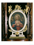 The Sacred Heart of Christ, from the Boarding School Chapel, 1766 Gicl&#233;e-Druck von Giuseppe Varotti