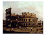 The Colosseum Giclee Print by Canaletto 