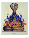 Vishnu Premium Giclee Print by A. Geringer