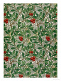 Arbutus Wallpaper Design Giclee Print by William Morris