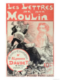 "Cover of ""Les Lettres De Mon Moulin"" by Alphonse Daudet Giclee Print by Jose Roy"