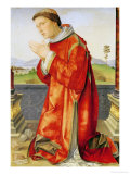 Saint Stephen Giclee Print by Francesco Francia