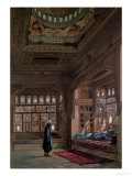 The Harem of Sheikh Sadat, Cairo, 1870 Giclee Print by Frank Dillon