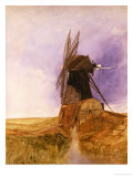 The Mill Premium Giclee Print by John Sell Cotman