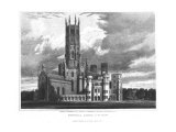 "Fonthill Abbey from the South-West, from ""Graphic and Literary Illustrations of Fonthill Abbey"" Giclee Print by George Cattermole"