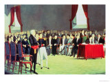 Signing of the Act of Independence on 5th July 1811 Giclee Print by Juan Lovera