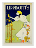 "Reproduction of a Poster Advertising ""Lippincott"" Premium Giclee Print by Will Carqueville"